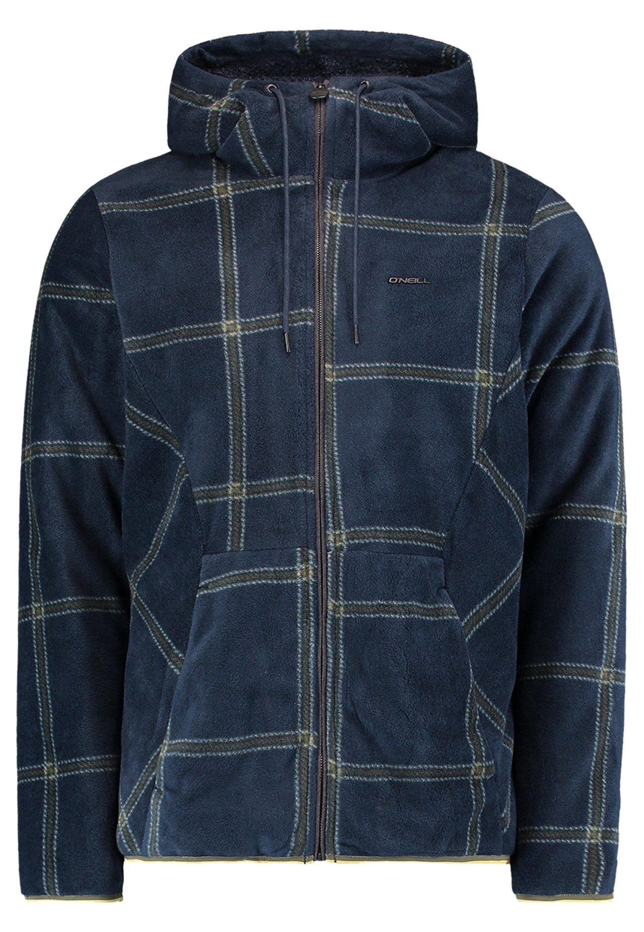O'neill Strickjacke - Blue Aop W/ Green