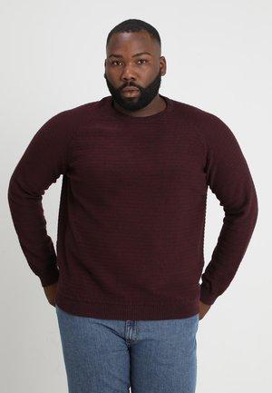 COWIND - Stickad tröja - port royale