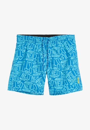 Swimming shorts - blue print