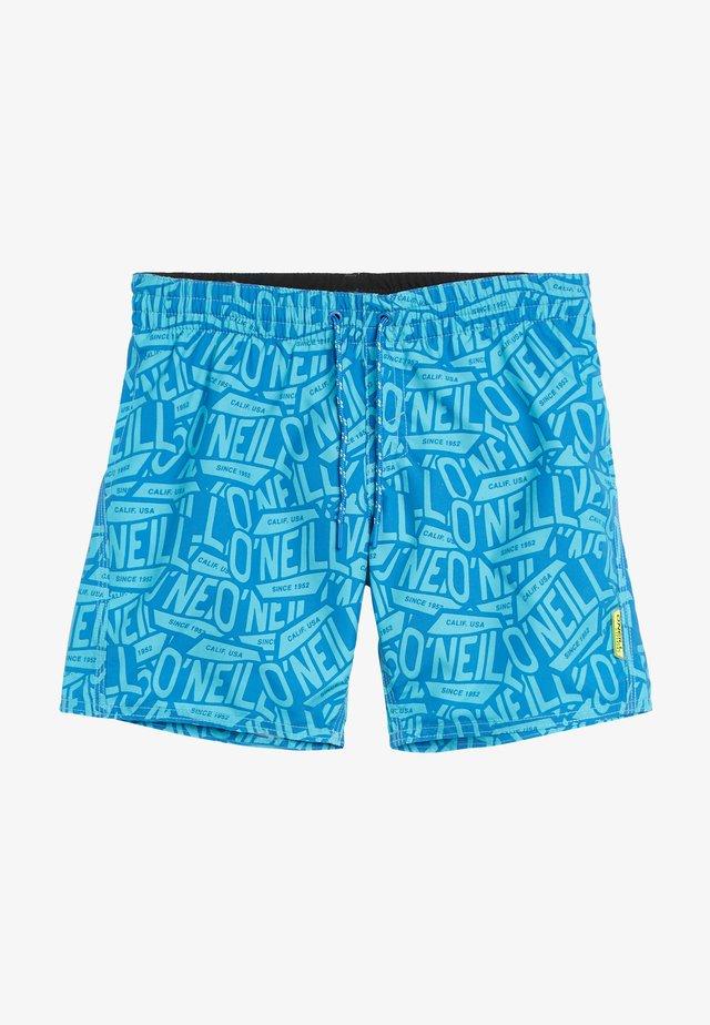 Zwemshorts - blue print