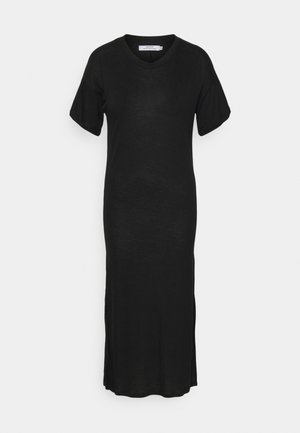 LONG DRESS RONNEBY  - Jersey dress - black