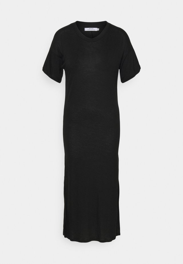 LONG DRESS RONNEBY  - Robe en jersey - black