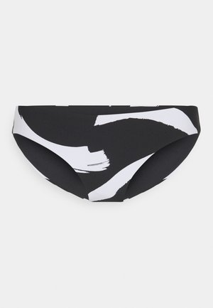 NEW WAVE HIPSTER - Bikini bottoms - black