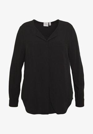 JRVERONICA SOLID SHIRT  - Blouse - black