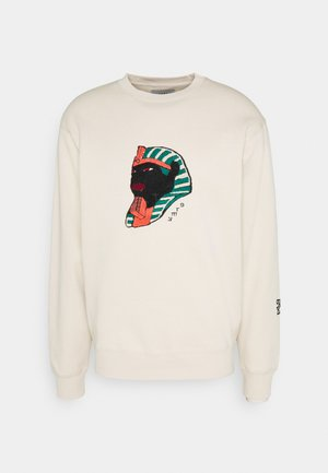 CALL OF YORE CREWNECK UNISEX - Sweatshirt - sand
