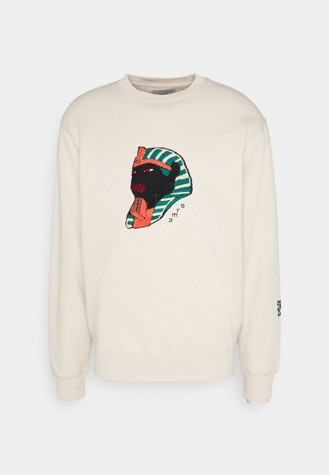 CALL OF YORE CREWNECK UNISEX - Collegepaita - sand