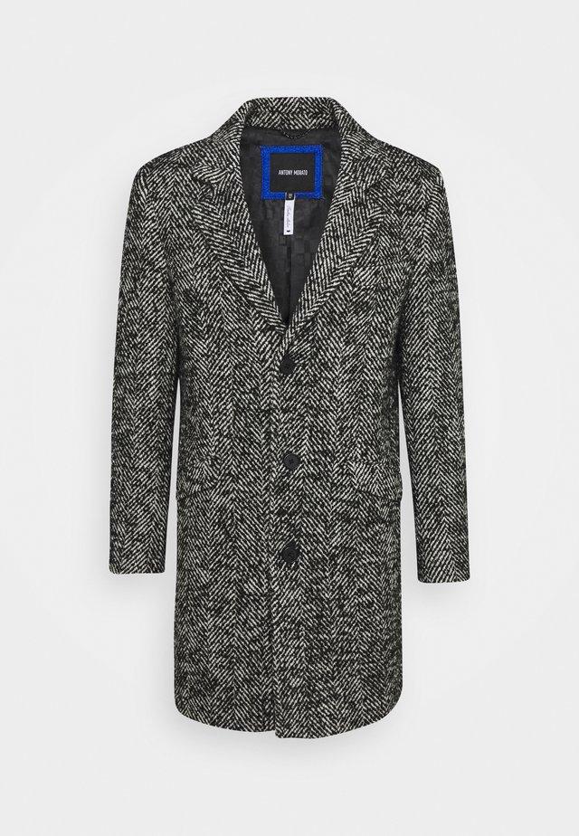 LONG COAT - Wollmantel/klassischer Mantel - black