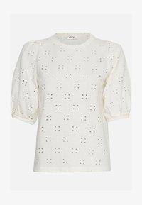 Moss Copenhagen - KARISSA SS - Basic T-shirt - vanilla ice - 1