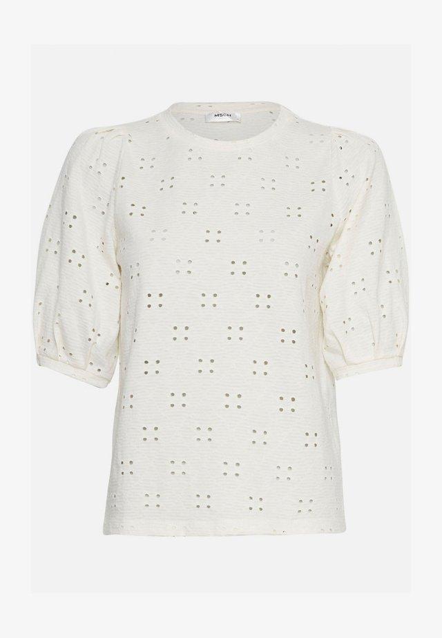 KARISSA SS - T-shirt basic - vanilla ice