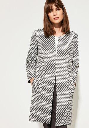 Short coat - black jacquard