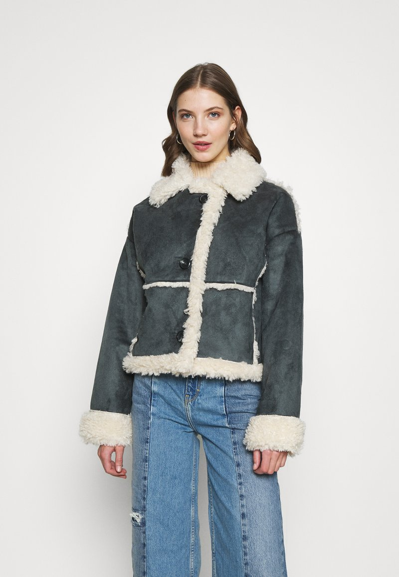 BDG Urban Outfitters - JACKET - Light jacket - charcoal