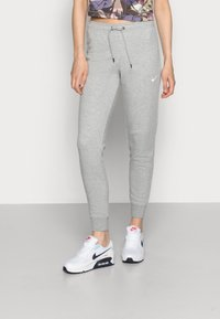 Nike Sportswear - TIGHT - Joggebukse - dark grey heather/white - 0