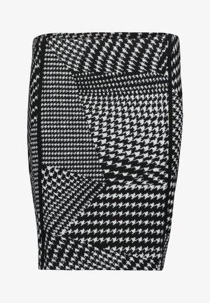 Pencil skirt - zwart/witte