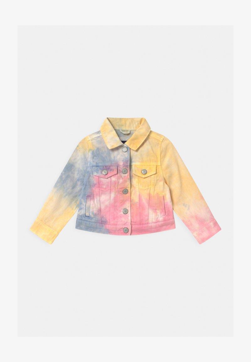 GAP - TODDLER GIRL TIE DYE - Denim jacket - multi-coloured