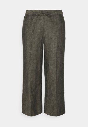 MARITTA - Trousers - black oliv