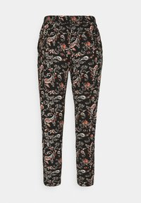Vero Moda Petite - VMSIMPLY EASY LOOSE PANT - Trousers - black/adda - 1