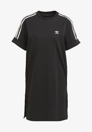 TEE DRESS - Žerzejové šaty - black