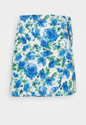 DOVE SKIRT - Áčková sukně - white/blue