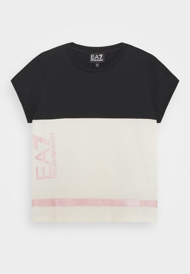 T-shirt con stampa - jet stream