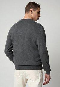 Napapijri - DECATUR - Trui - dark grey melange - 1
