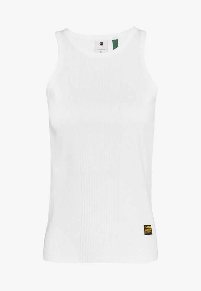 RIB SLIM  - Top - white