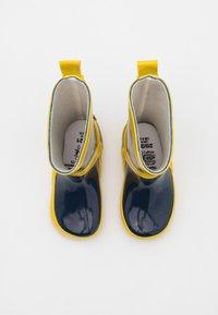 Playshoes - UNISEX - Wellies - marine/gelb - 3