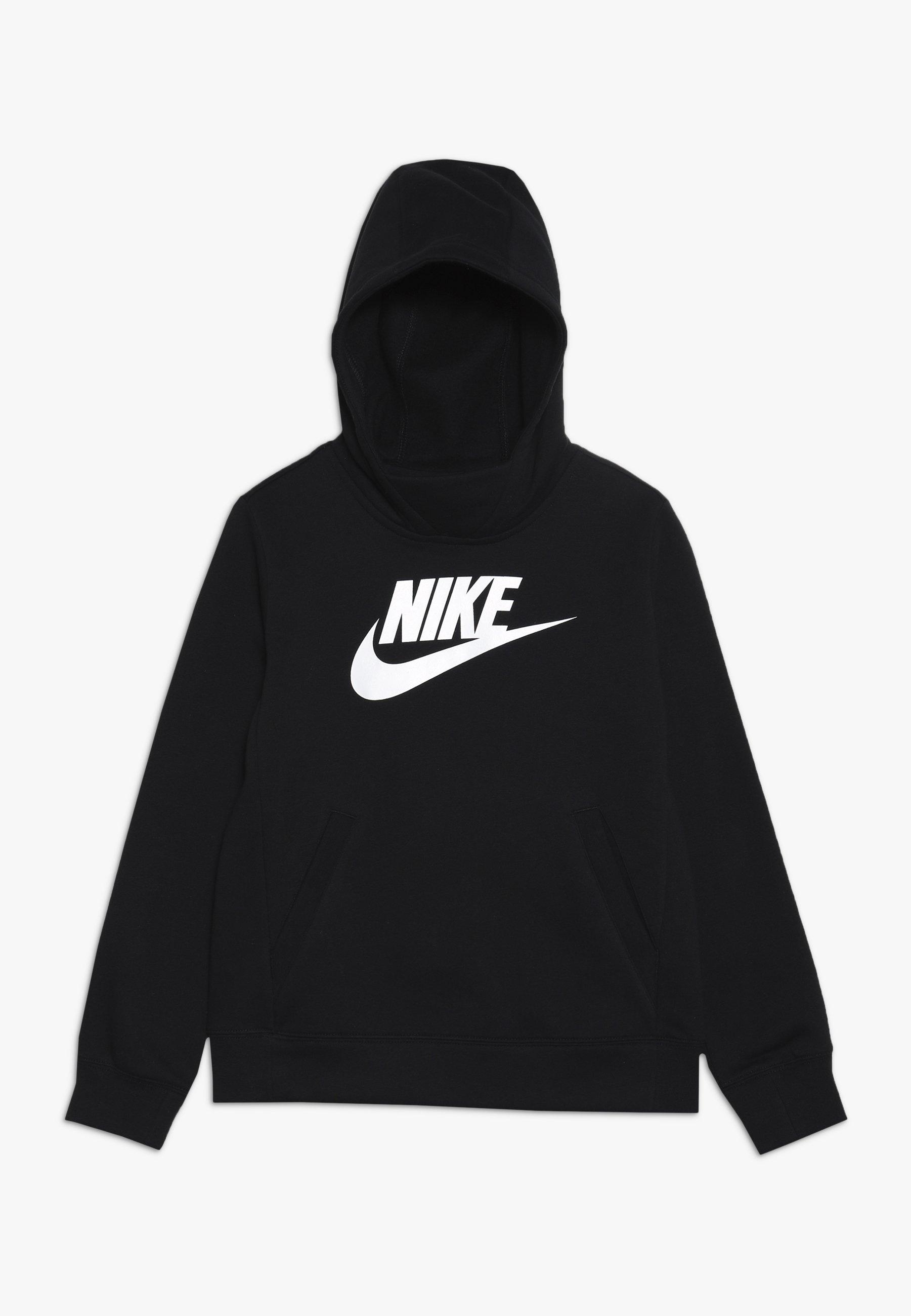 Große Förderung Nike Sportswear Kapuzenpullover - black/white | Damenbekleidung 2020