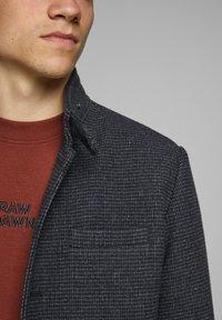 Jack & Jones PREMIUM - JPRBLAMELTON - Classic coat - dark grey melange - 4