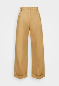 FLARED TROUSER - Trousers - sandstone