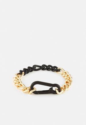 CARABINER CHAIN BRACELET - Armband - gold-coloured