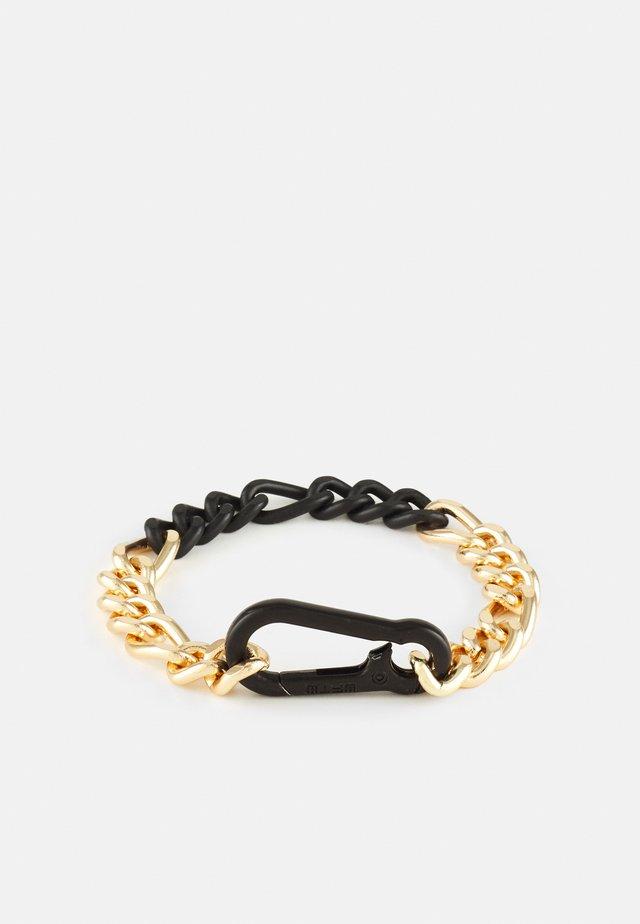 CARABINER CHAIN BRACELET - Bracciale - gold-coloured