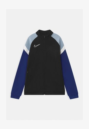 ACADEMY - Training jacket - black/deep royal blue/white