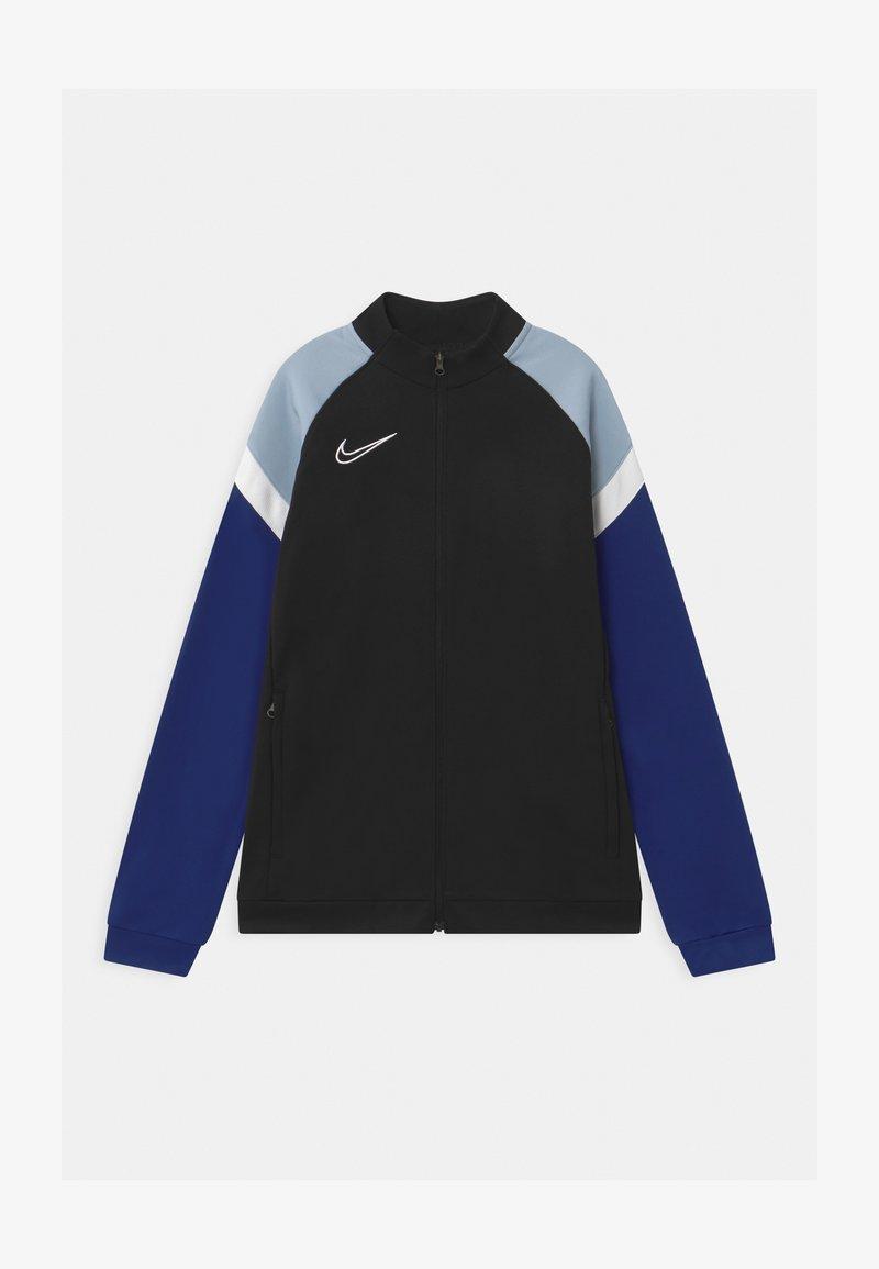 Nike Performance - ACADEMY - Training jacket - black/deep royal blue/white
