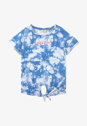KNOTENDETAIL - Print T-shirt - granada blue|blue