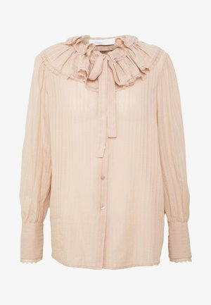 Button-down blouse - cloudy rose