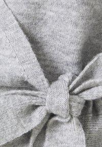 Even&Odd - WRAP CARDIGAN - Cardigan - mottled light grey - 2