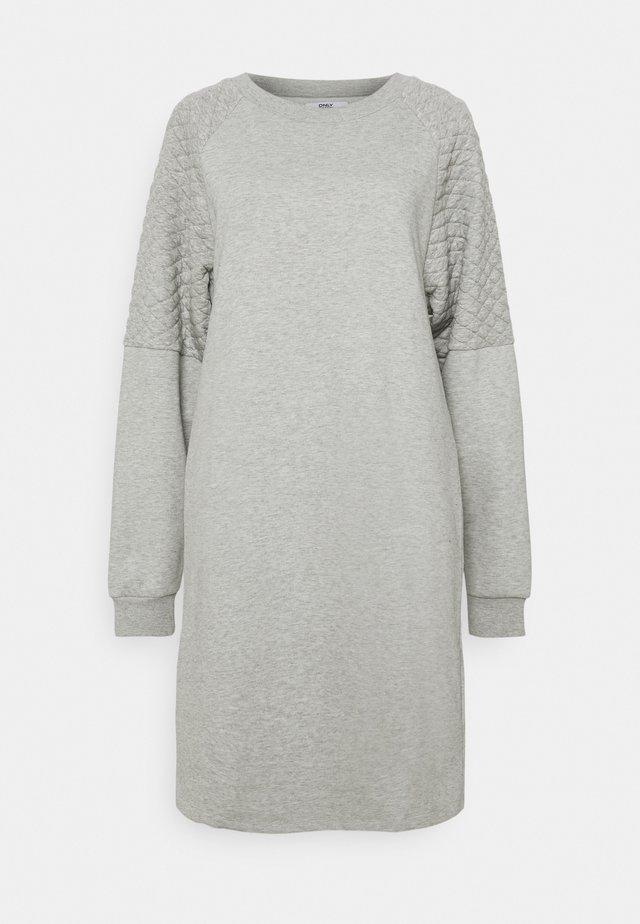 ONLSOPHIE QUILT - Korte jurk - light grey melange