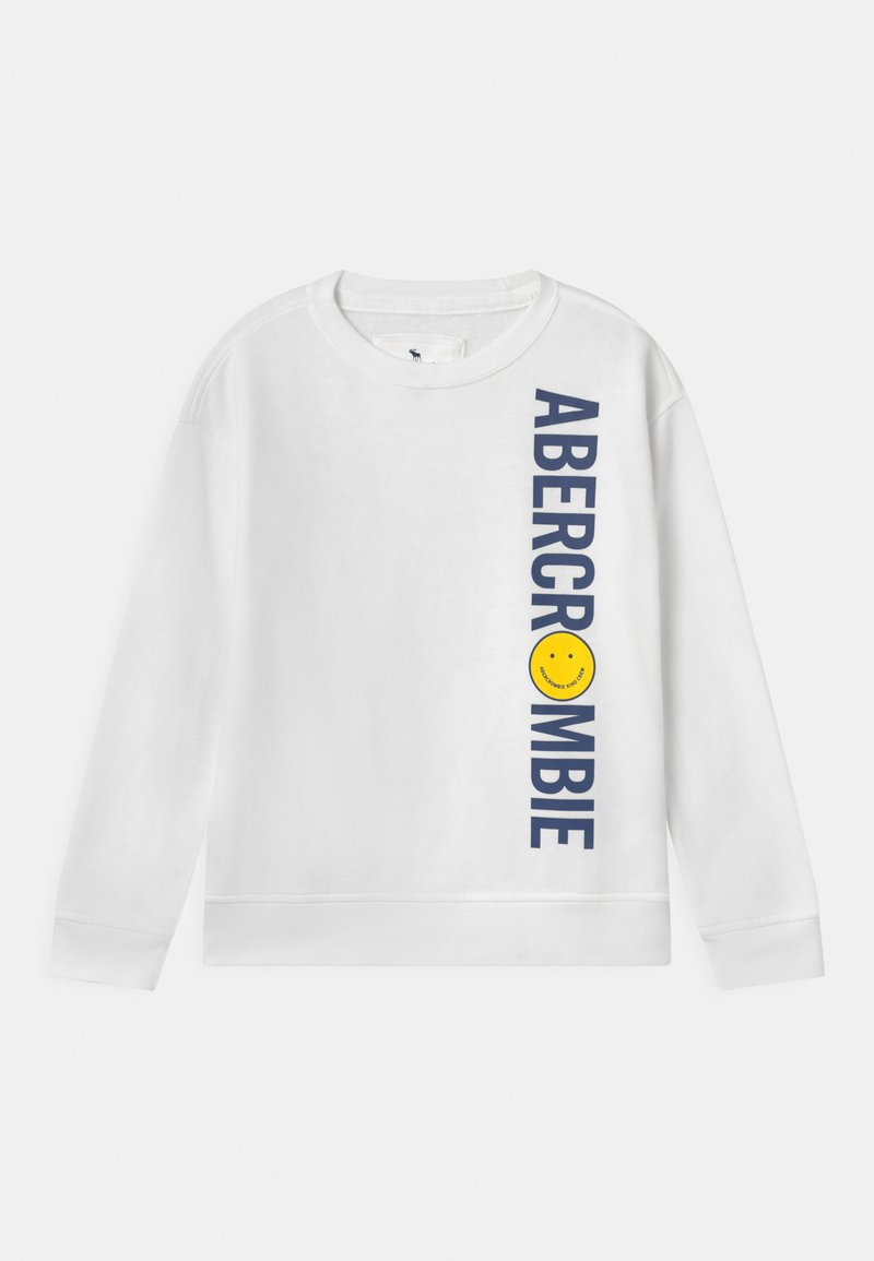 Abercrombie & Fitch - CREW - Sweatshirts - white