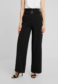 4th & Reckless - BRADY TROUSER - Trousers - black - 0
