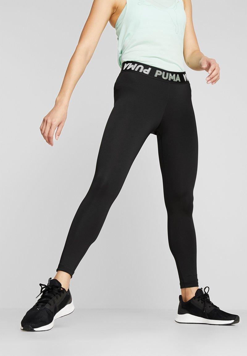 Puma - MODERN SPORTS BANDED - Medias - black/mist green