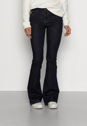RAVAL RIN - Flared jeans - rinse dark