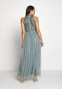 Lace & Beads - GUI MAXI - Suknia balowa - teal - 2