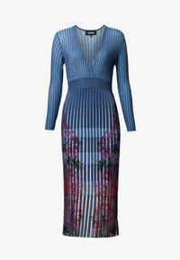 Desigual - CLOUD - Jumper dress - blue - 3