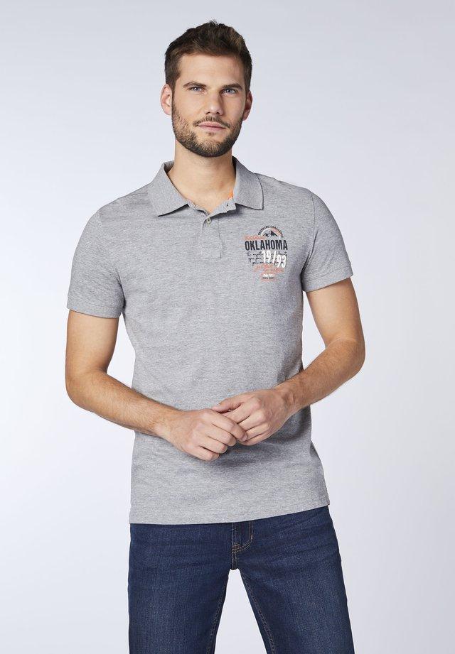 Polo shirt - neutr gray