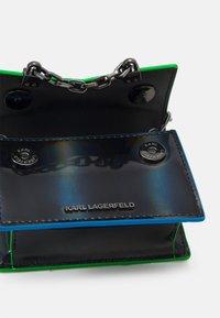 KARL LAGERFELD - SEVEN IRIDESCENT NANO - Handbag - black - 2