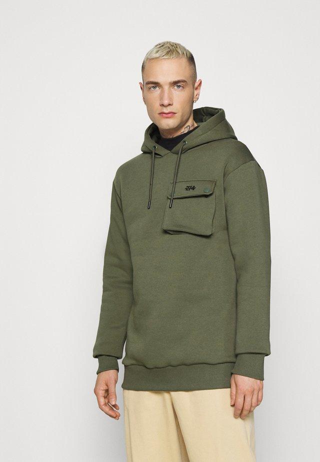 COMBAT HOOD - Sweatshirts - khaki