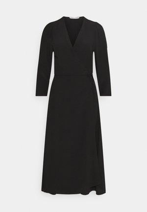 BRITT WRAP DRESS - Day dress - black