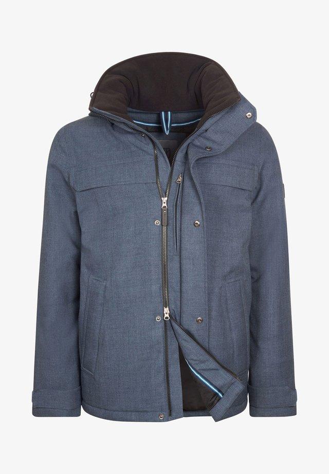 Winter jacket - bluegrey