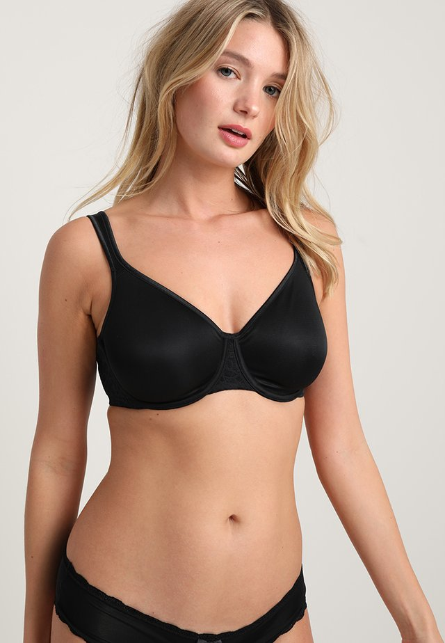 COMFORT MINIMIZER - Underwired bra - black