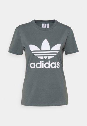 TREFOIL TEE - Camiseta estampada - blue oxide